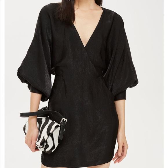 173db7f61658 Topshop Dresses | Velvet Satin Minidress | Poshmark